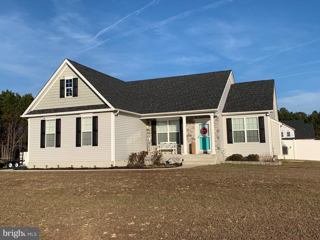 Millsboro DE Single Family Home Real Estate Sales - 6 Morris Mill Country Meadows  For Sale