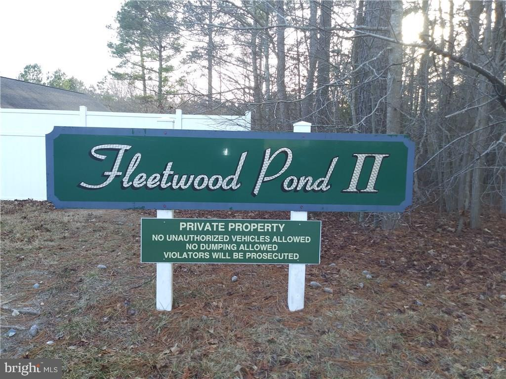Georgetown DE Building Lots, Land & Acreage Real Estate Sales - 14274 Brandy Fleetwood Pond  For Sale