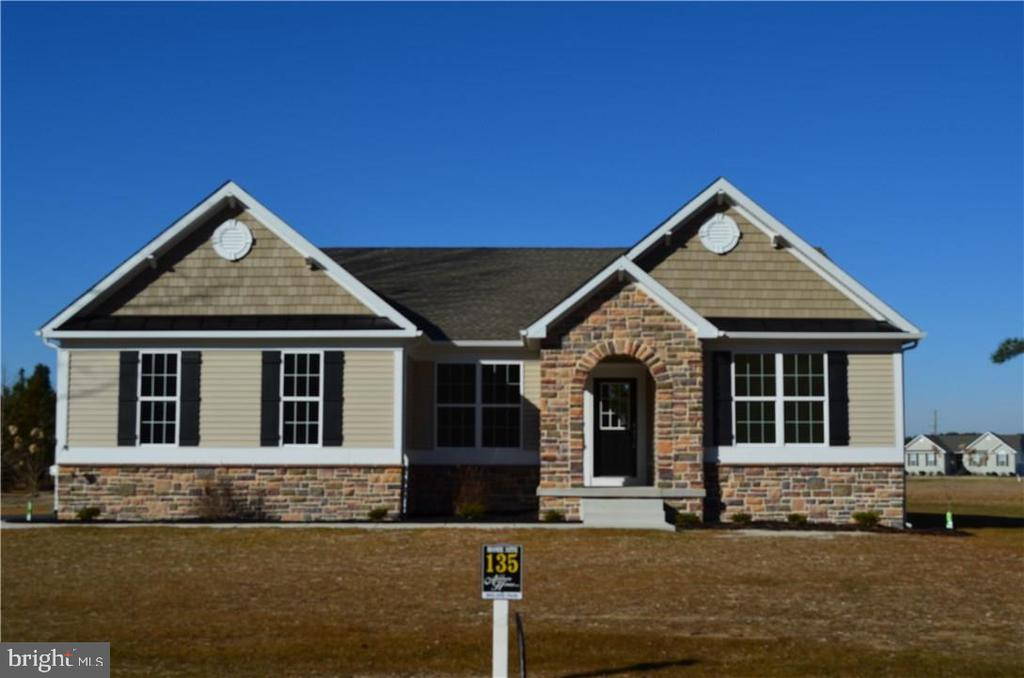 Georgetown DE Single Family Home Real Estate Sales - 24732 Millpond Estates Of Morris Mill  For Sale