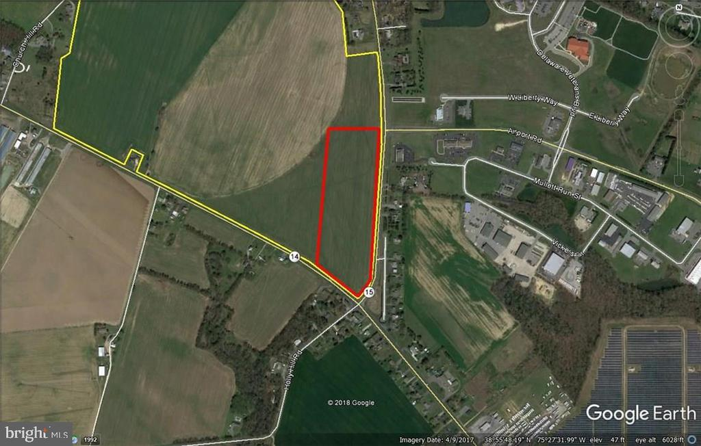 Milford DE Building Lots, Land & Acreage Real Estate Sales - 25 Ac Milford Harrington   For Sale