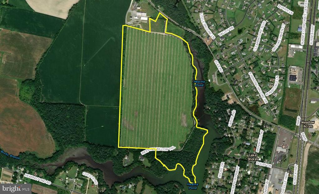 Seaford DE Building Lots, Land & Acreage Real Estate Sales - Weeping Willow   For Sale
