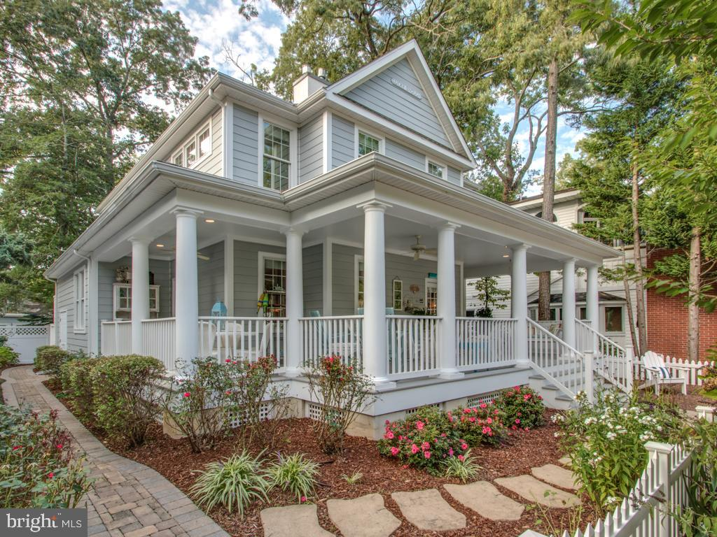 Rehoboth Beach DE Single Family Home Real Estate Sales - 109 Columbia North Rehoboth  For Sale