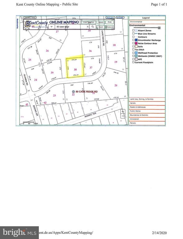 Dover DE Building Lots, Land & Acreage Real Estate Sales - 87 Case Ridge   For Sale