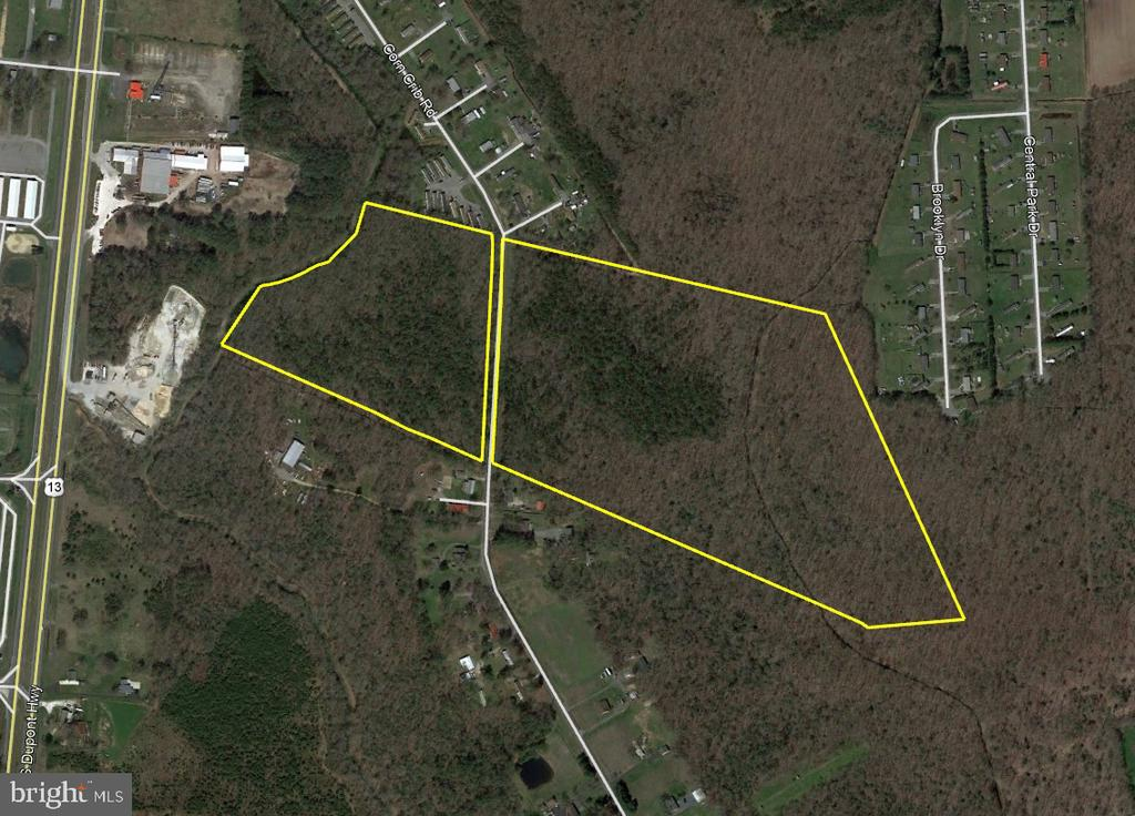 Harrington DE Building Lots, Land & Acreage Real Estate Sales - Corn Crib Road   For Sale