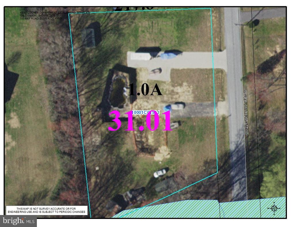 Dover DE Building Lots, Land & Acreage Real Estate Sales - 273 Wheel Of Fortune   For Sale