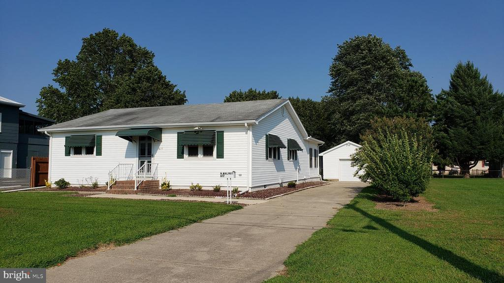 Milford DE Single Family Home Real Estate Sales - 617 Walnut   For Sale