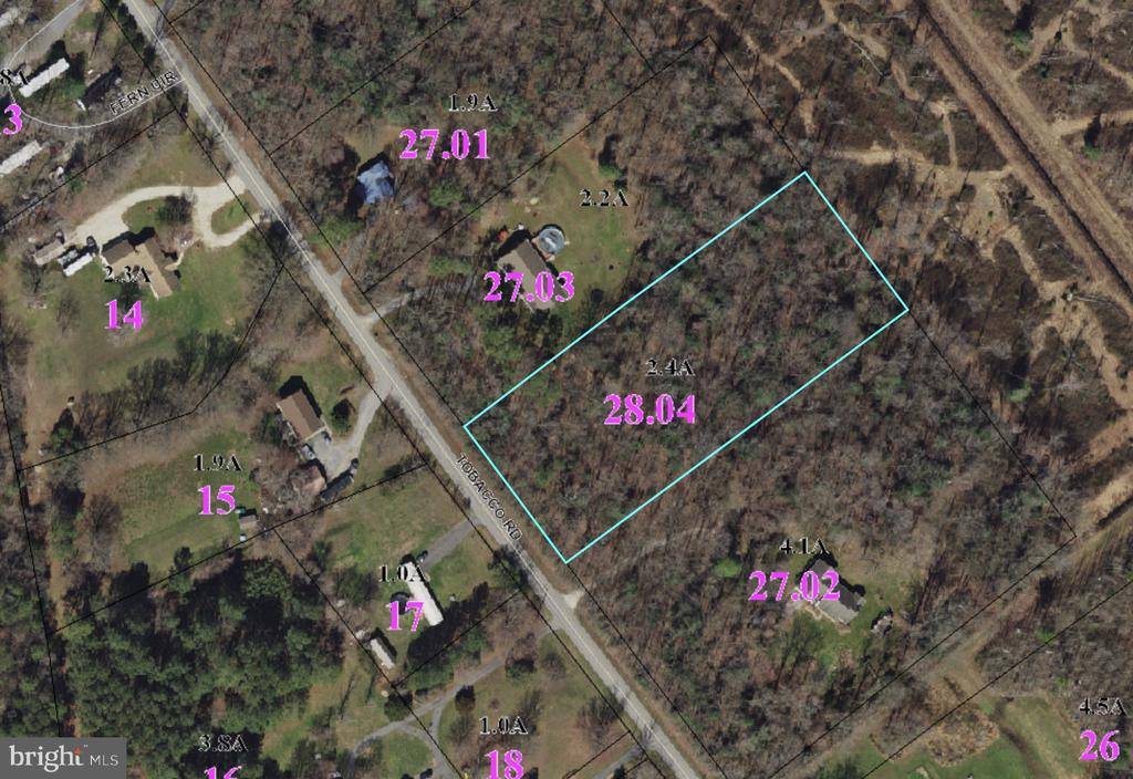 Camden Wyoming DE Building Lots, Land & Acreage Real Estate Sales - Tobacco Rd.   For Sale