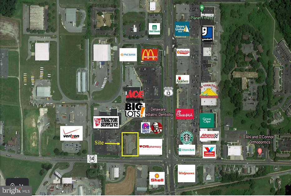 Milford DE Commercial Industrial Real Estate Sales - 601 Front   For Sale