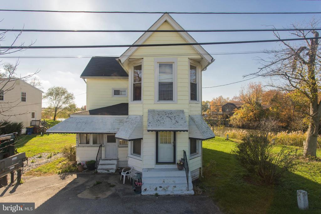 Delaware City DE Single Family Home Real Estate Sales - 201 Polktown   For Sale