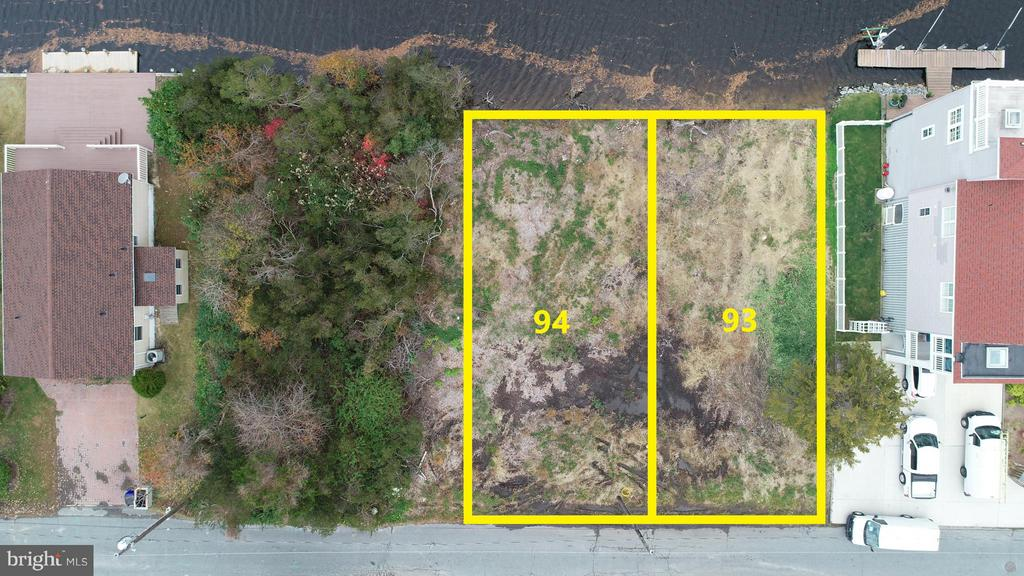 Bethany Beach DE Building Lots, Land & Acreage Real Estate Sales - Creek Road Bayview Park  For Sale