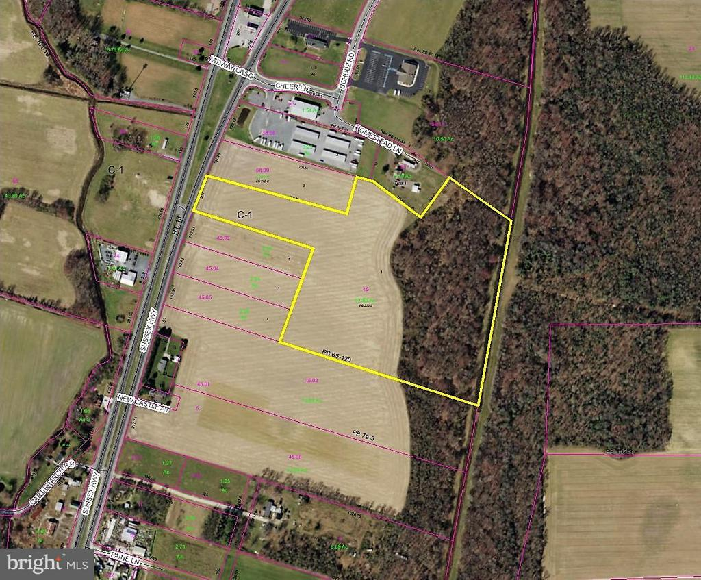 Greenwood DE Building Lots, Land & Acreage Real Estate Sales - 12771 E Sussex Highway, R Route 13   For Sale