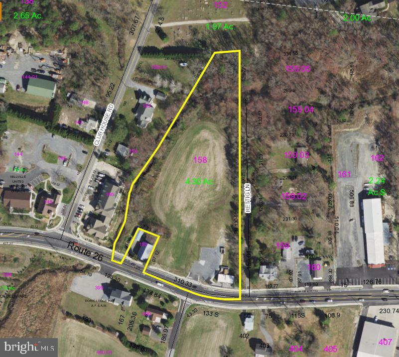 Millville Commercial Industrial Real Estate Sales - 35507 Atlantic   For Sale