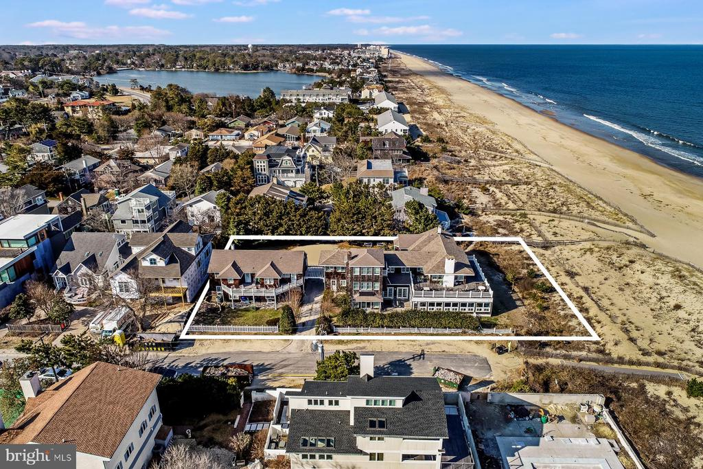 Dewey Beach DE Single Family Home Real Estate Sales - 1 & 3 Cullen Rehoboth By The Sea  For Sale