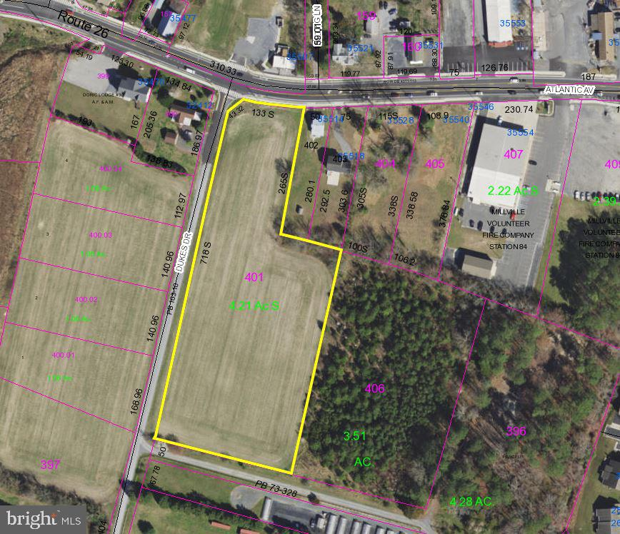 Millville Commercial Industrial Real Estate Sales - Route 26   For Sale
