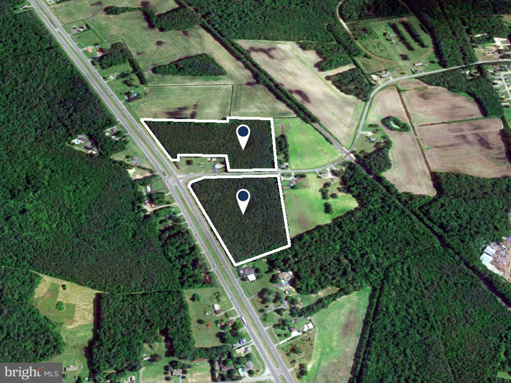 Georgetown DE Building Lots, Land & Acreage Real Estate Sales - 19505 Dupont Boulevard   For Sale