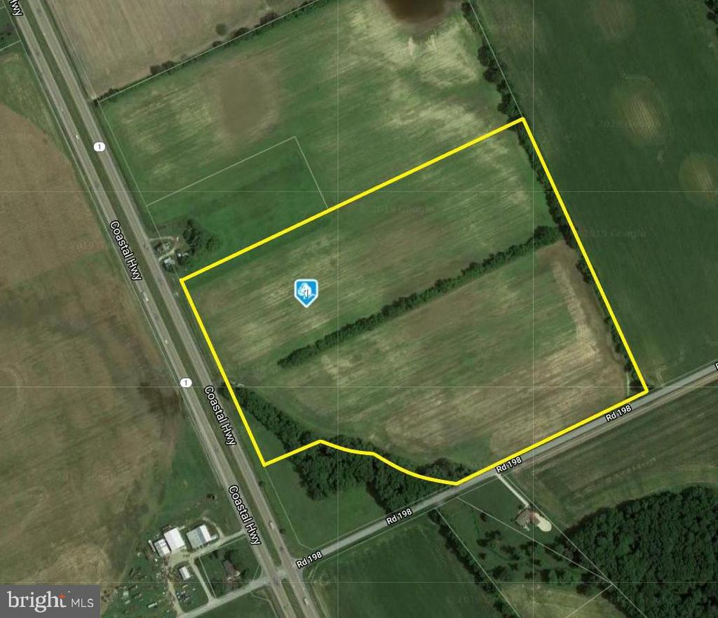 Milton DE Building Lots, Land & Acreage Real Estate Sales - 38.14 Acre Parcel Route 1   For Sale
