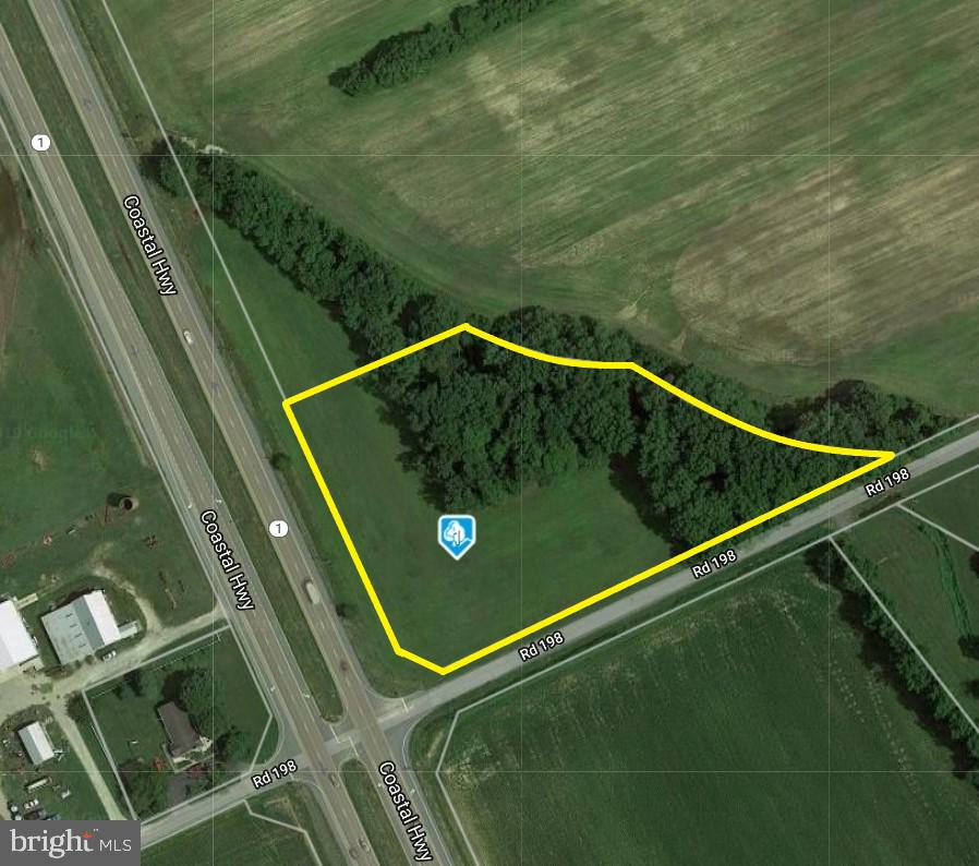 Milton DE Building Lots, Land & Acreage Real Estate Sales - 3.8 Acre Parcel Route 1   For Sale