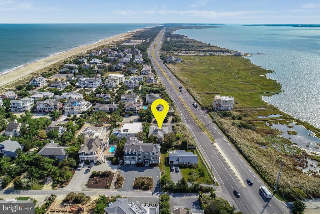 Rehoboth Beach DE Single Family Home Real Estate Sales - 27 Bedford Indian Beach  For Sale