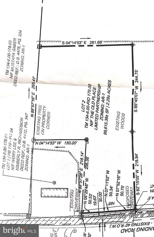 Dagsboro Lots and Land Real Estate Sales - 2.29 Acres Sandy landing road   For Sale