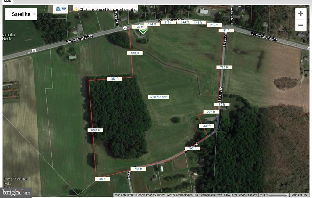 Dagsboro Lots and Land Real Estate Sales - 32888 Vines creek   For Sale