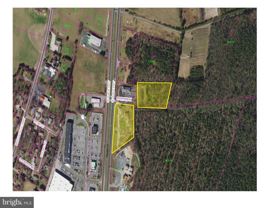 Seaford DE Building Lots, Land & Acreage Real Estate Sales - Route 13   For Sale