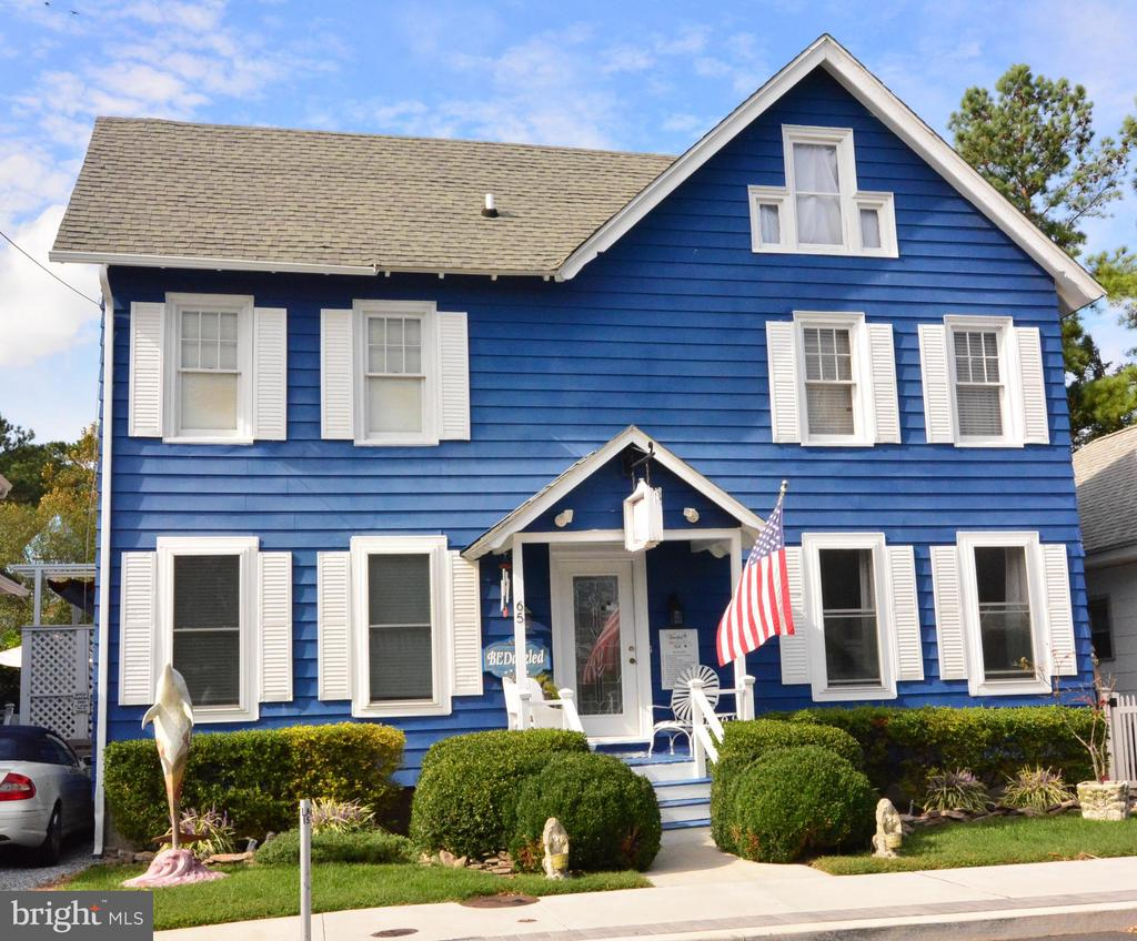 Rehoboth Beach DE Single Family Home Real Estate Sales - 65 Lake   For Sale