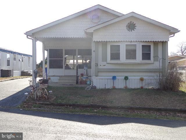 Rehoboth Beach DE Mobile Home Real Estate Sales - 3 Carriage Lane Colonial East Mobile Home Park  For Sale