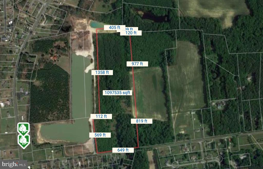 Frankford DE Building Lots, Land & Acreage Real Estate Sales - Burbage Rd.   For Sale