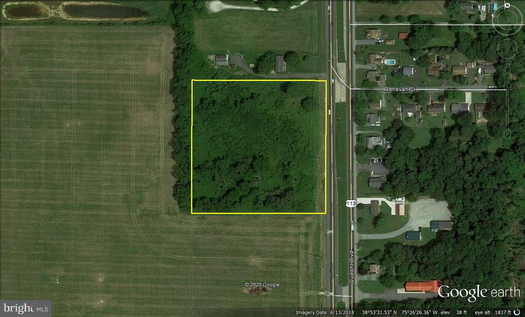 Milford DE Building Lots, Land & Acreage Real Estate Sales - 910-916 Dupont   For Sale