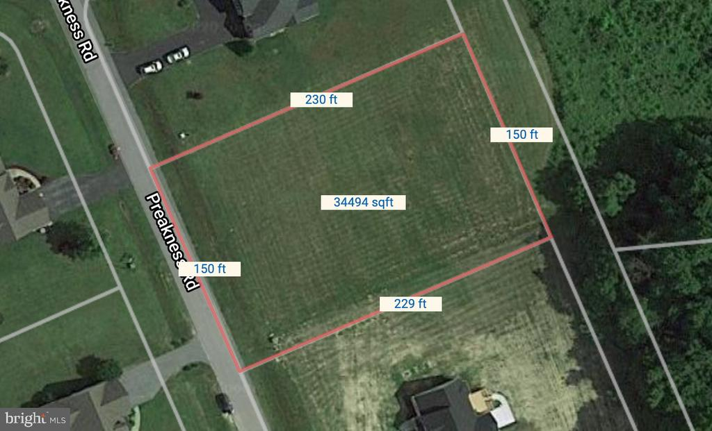 Milton DE Building Lots, Land & Acreage Real Estate Sales - 17727 Preakness Bridlewood  For Sale