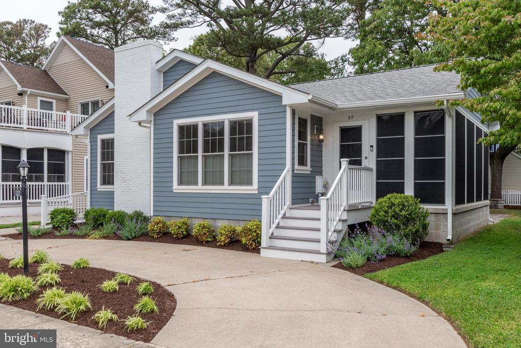Rehoboth Beach DE Single Family Home Real Estate Sales - 217 Laurel South Rehoboth  For Sale
