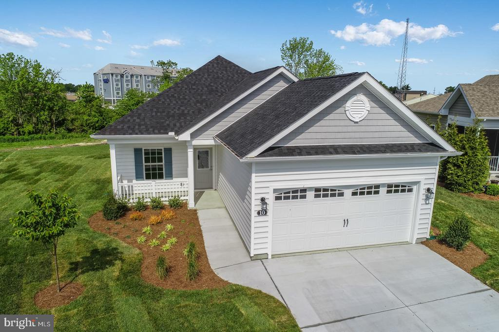 Georgetown DE Single Family Home Real Estate Sales - 28 Frankenberry Village Of Cinderberry  For Sale