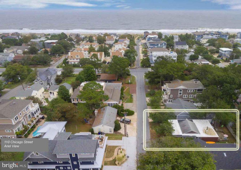 Dewey Beach DE Single Family Home Real Estate Sales - 110 Chicago Rehoboth By The Sea  For Sale