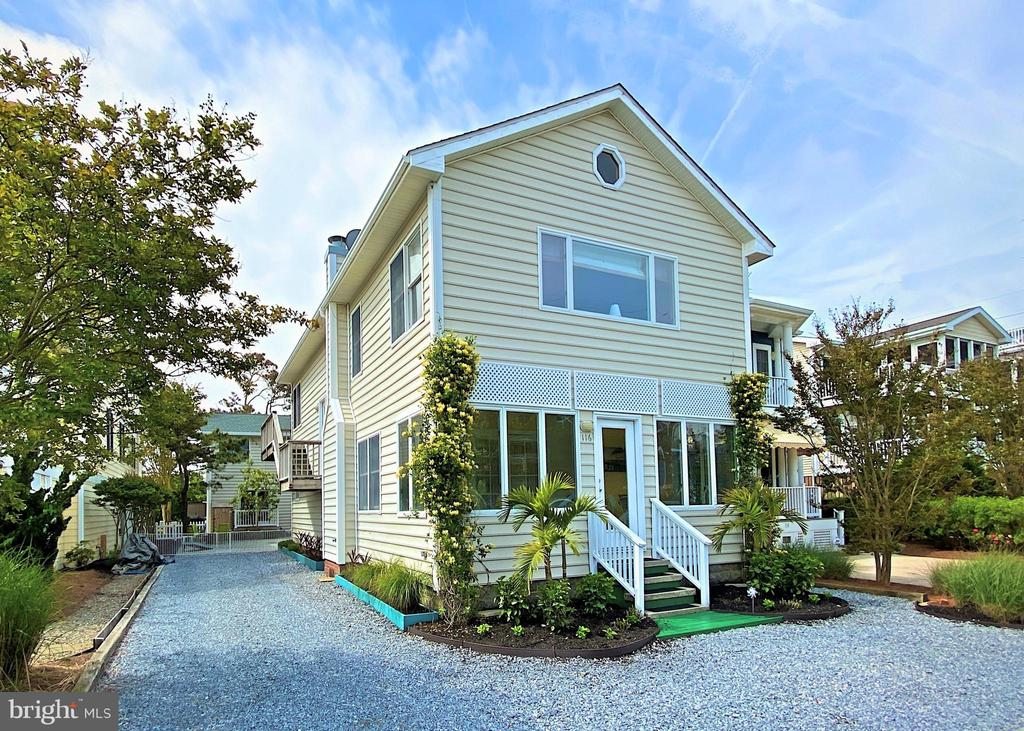 Bethany Beach DE Single Family Home Real Estate Sales - 116 Hollywood   For Sale