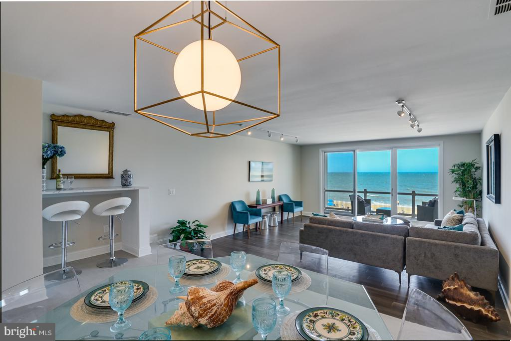 Rehoboth Beach DE Condominium Real Estate Sales - 1 Grenoble North Rehoboth Stuart Kingston For Sale