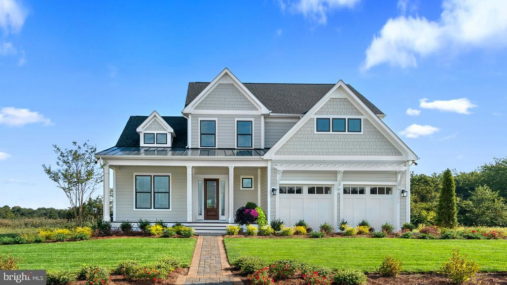 Lewes DE Single Family Home Real Estate Sales - 18358 Southampton Way (brookhaven Homesite 214) Coastal Club  For Sale