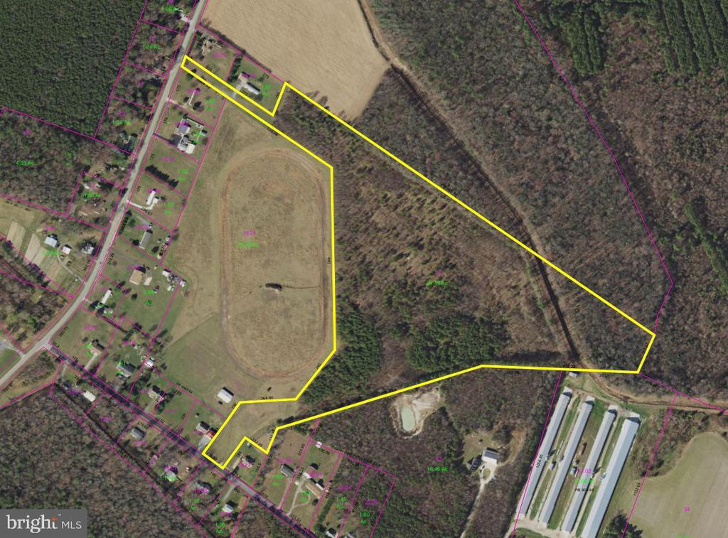 Ellendale Lots and Land Real Estate Sales - Beaver dam road   For Sale