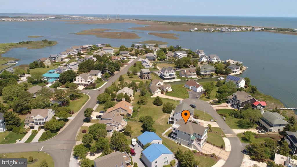Ocean View DE Single Family Home Real Estate Sales - 38841 Bayberry Quillens Point  For Sale