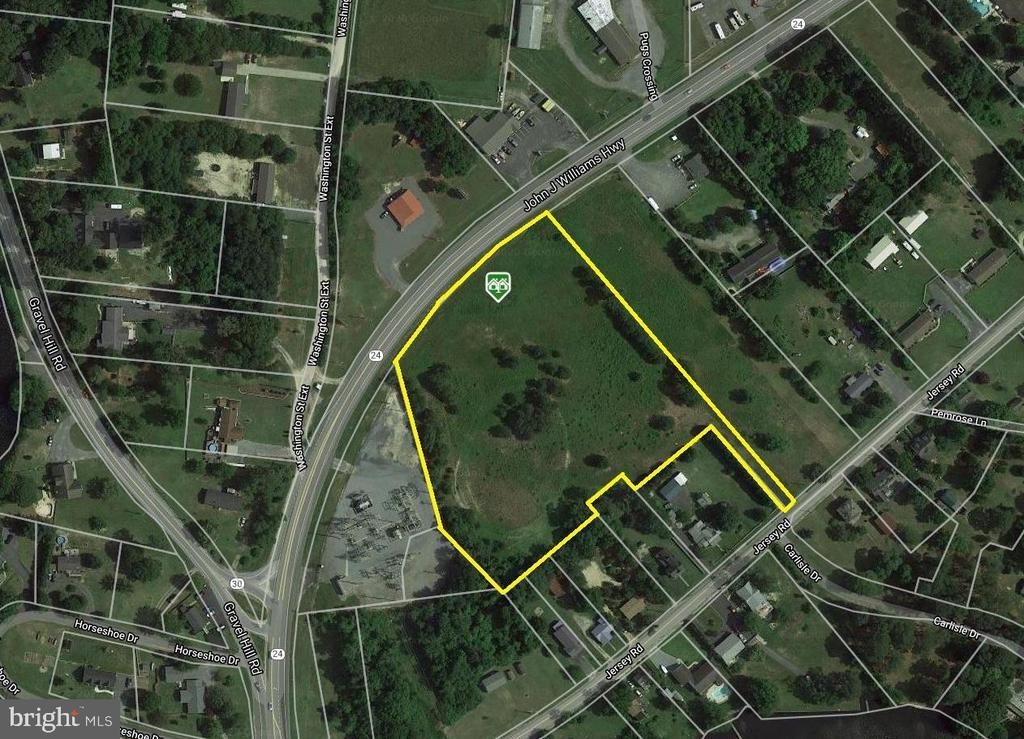 Millsboro DE Commercial Industrial Real Estate Sales - Route 24   For Sale
