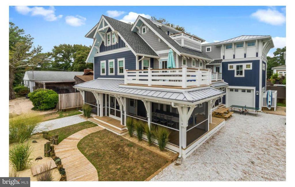 Dewey Beach DE Single Family Home Real Estate Sales - 111 Chicago Rehoboth By The Sea  For Sale