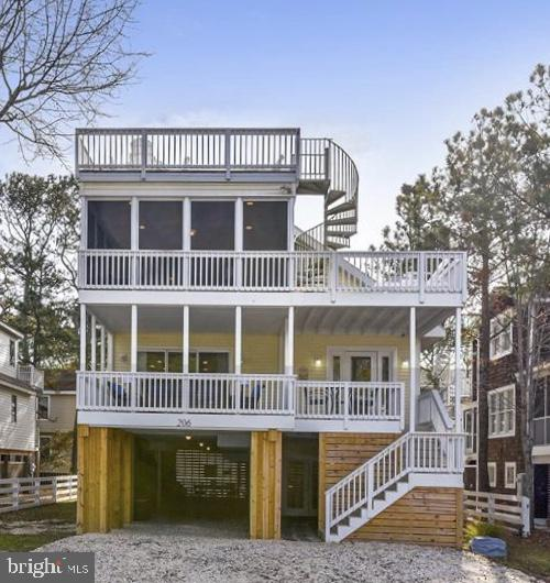 Bethany Beach DE Single Family Home Real Estate Sales - 206 Ashwood   For Sale