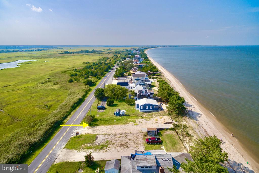Milford DE Building Lots, Land & Acreage Real Estate Sales - 227 Bay Slaughter Beach  For Sale