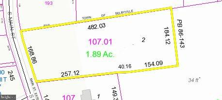 Selbyville DE Building Lots, Land & Acreage Real Estate Sales - 58 Main   For Sale