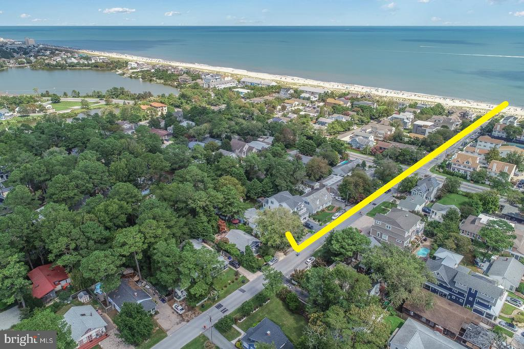 Dewey Beach DE Single Family Home Real Estate Sales - 113 Cullen Rehoboth By The Sea  For Sale
