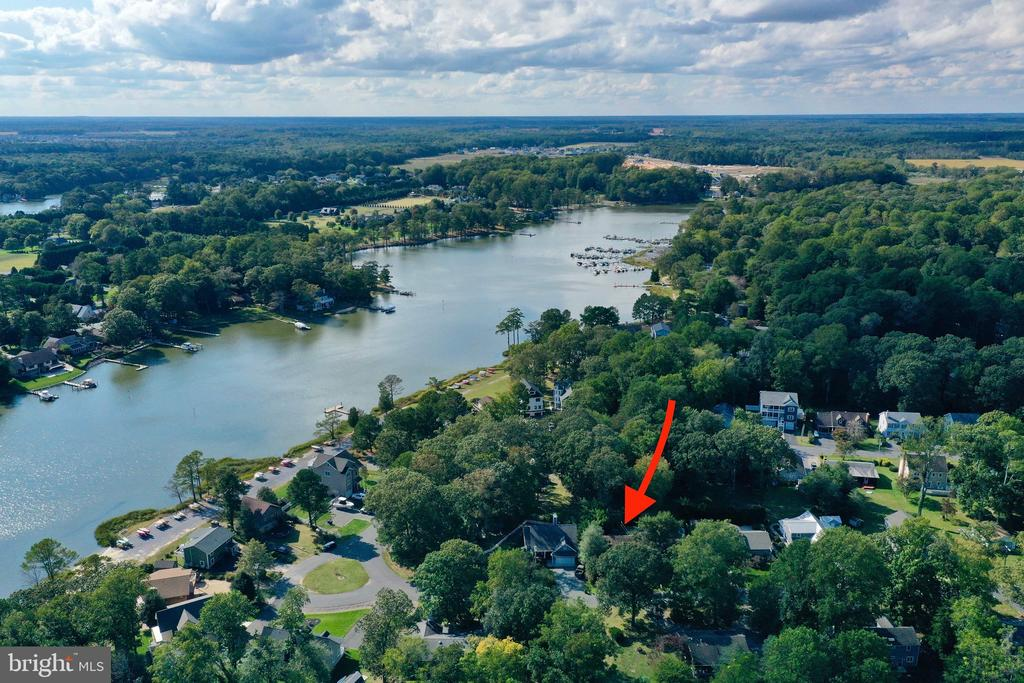 Lewes DE Single Family Home Real Estate Sales - 23776 Elmwood Ave E Angola By The Bay  For Sale