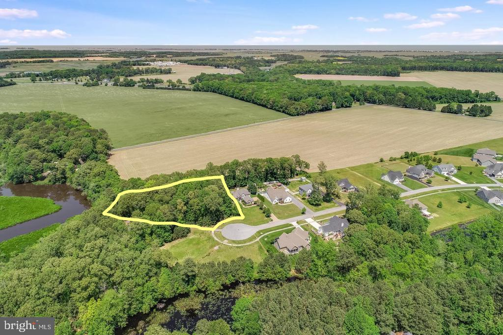 Milton DE Building Lots, Land & Acreage Real Estate Sales - 29158 Finch Pintail Pointe  For Sale
