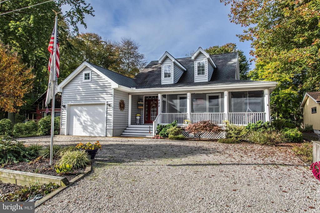 Bethany Beach DE Single Family Home Real Estate Sales - 602 Brookview Bethany West  For Sale