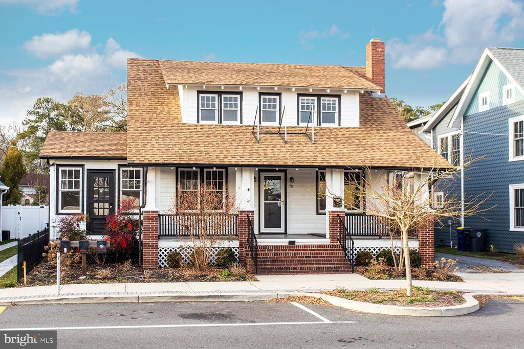 Rehoboth Beach DE Single Family Home Real Estate Sales - 75 Lake North Rehoboth  For Sale