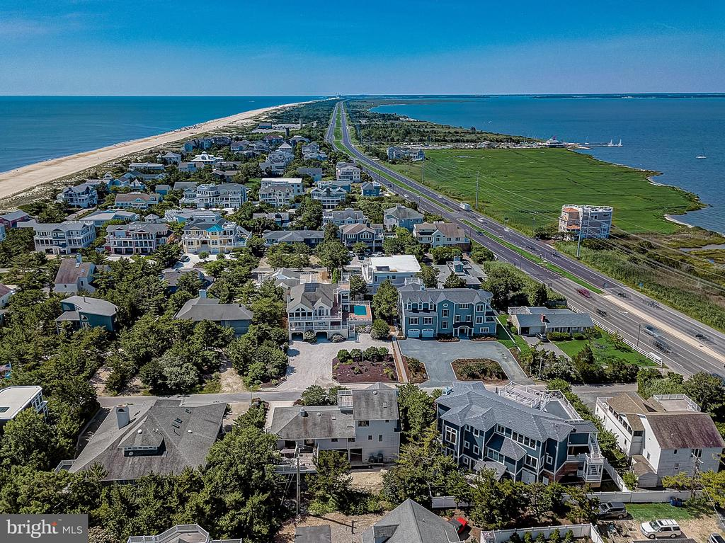 Rehoboth Beach DE Single Family Home Real Estate Sales - 39 Beach Indian Beach  For Sale
