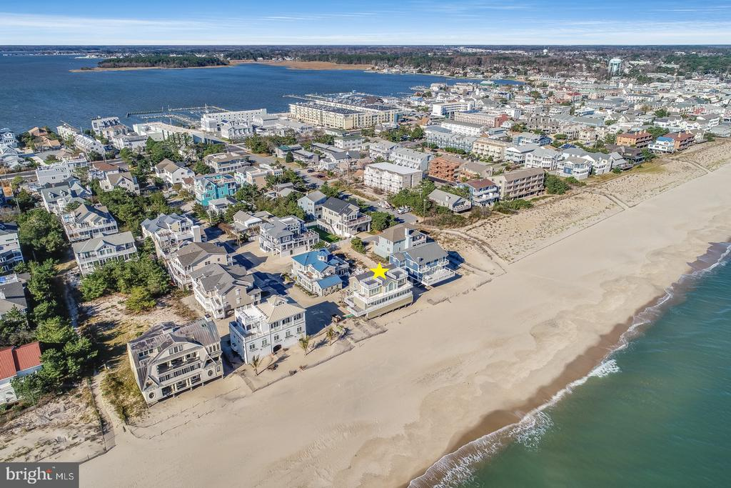 Rehoboth Beach DE Single Family Home Real Estate Sales - 1 Beach Indian Beach  For Sale